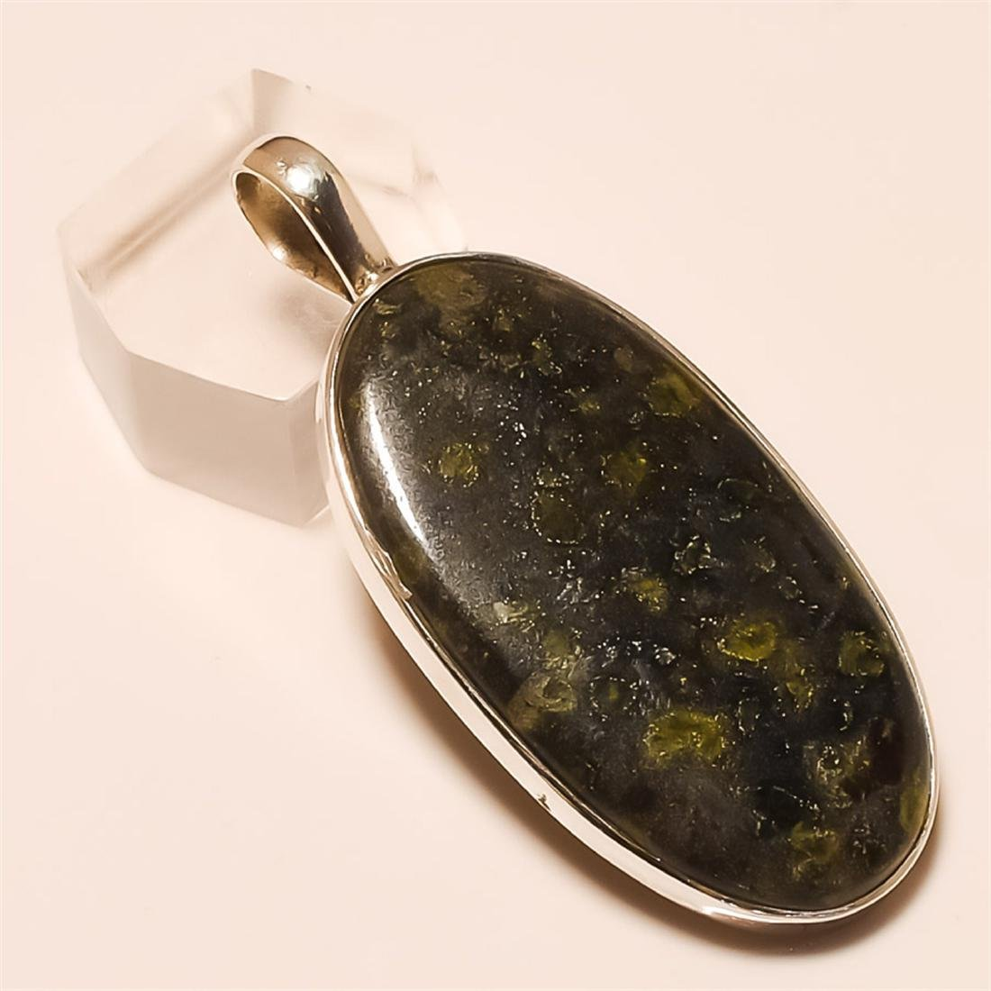 rain forest Pendant Solid Sterling Silver