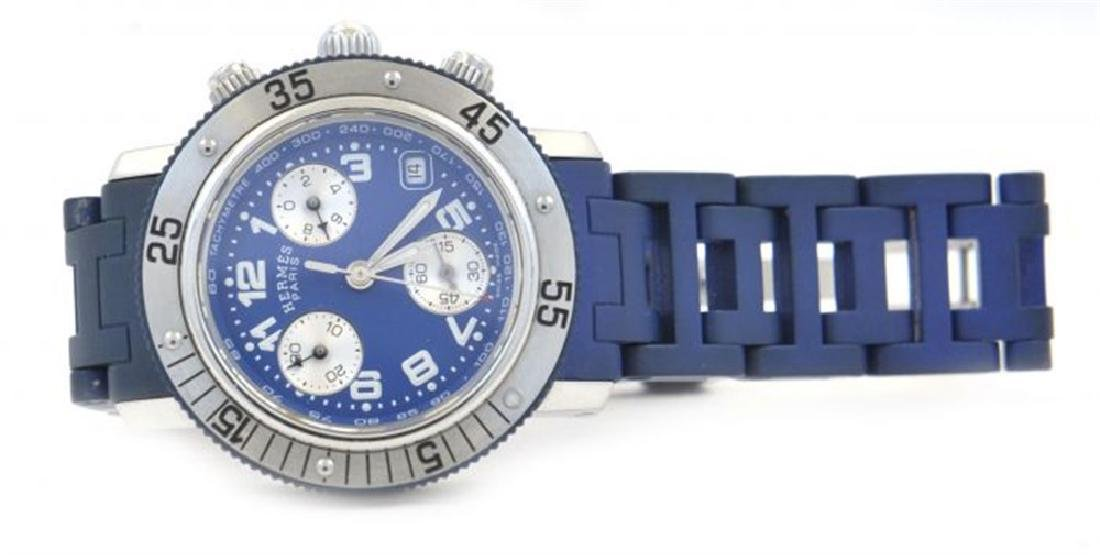 Hermes Clipper Chronograph Diver watch