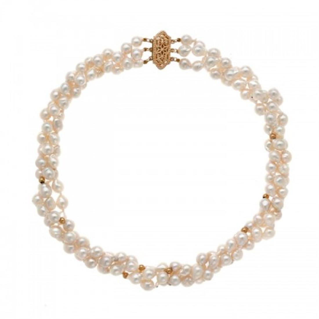 5.5-6.0mm Japanese Akoya Pearl Necklace