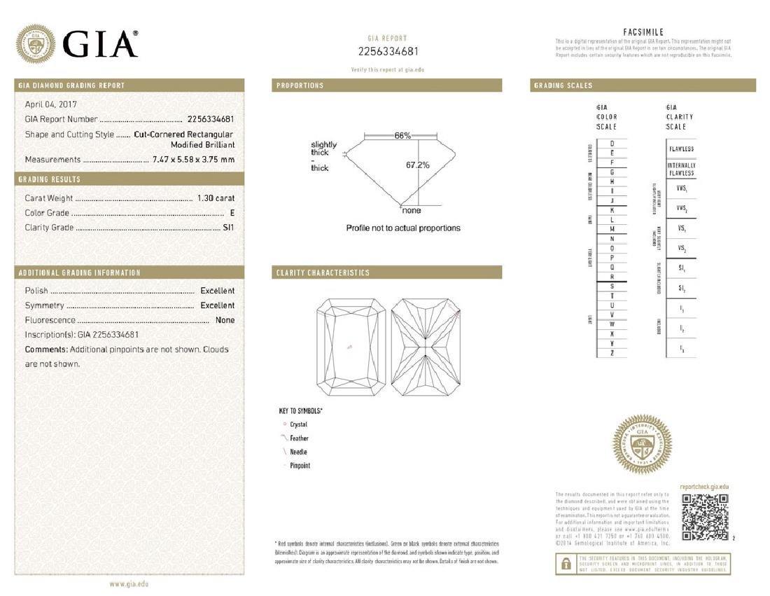 GIA/RD/E/SI1/1.3ct