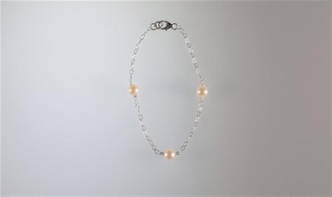 6x5.5mm Freshwater Pearl Bracelet