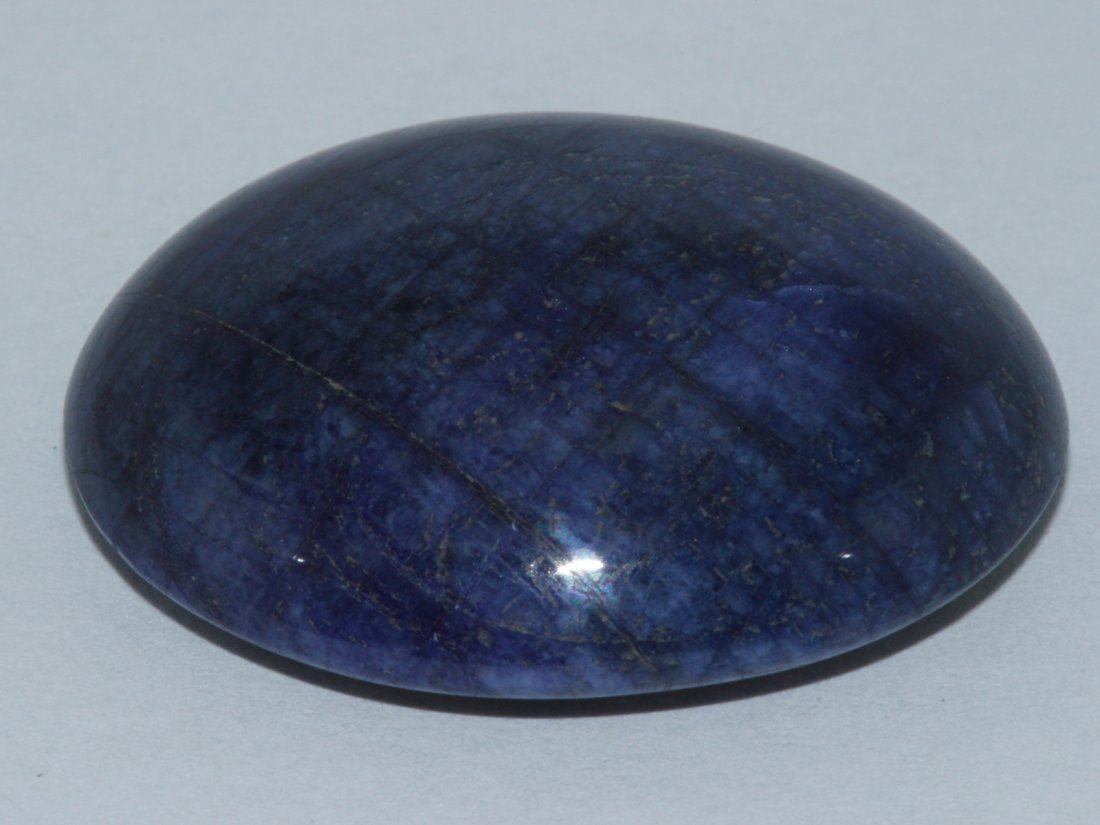Natural Blue Sapphire Cabochon 59.45ct Loose Stone