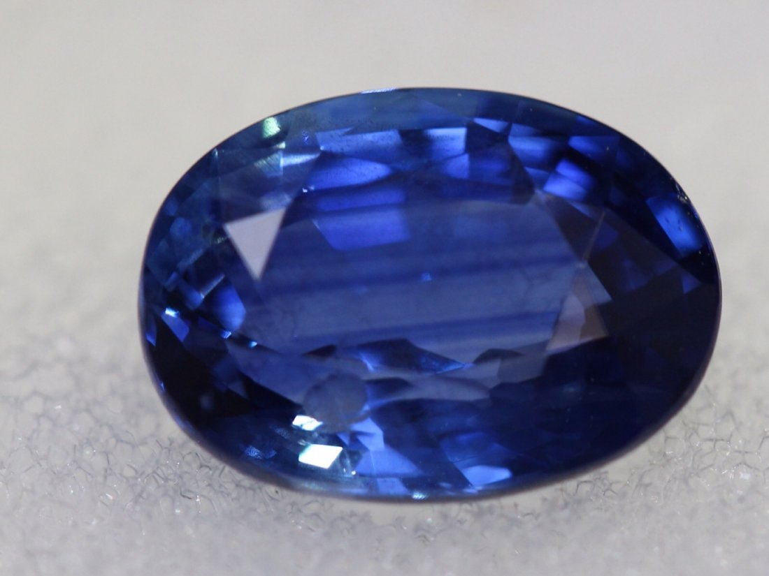 GIA Natural Sapphire Oval Shape 3.01ct