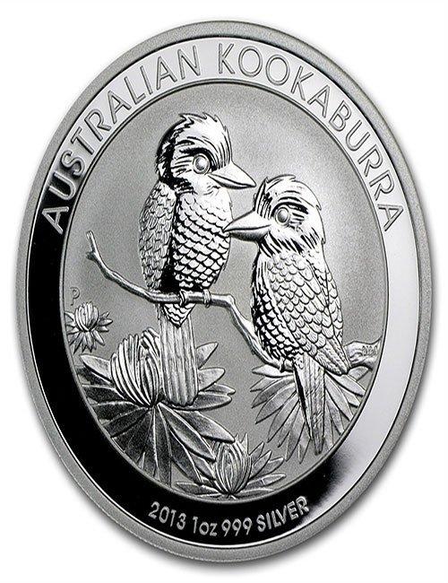 2013 1 oz Silver Australian Kookaburra