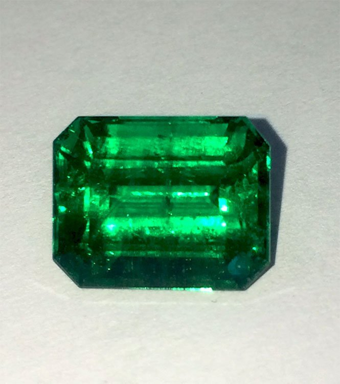 GIA  Emerald 5.52ct Octagonal
