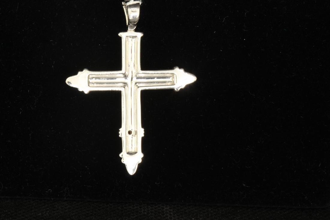 Sterling Silver .925  Cross Pendant 12.41gram