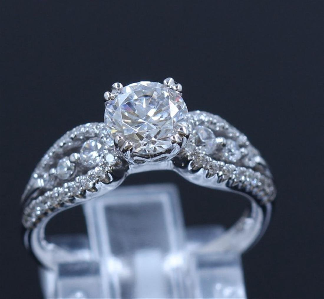 Silver & Cubic Zirconia Ring:3.11gms/Cubic