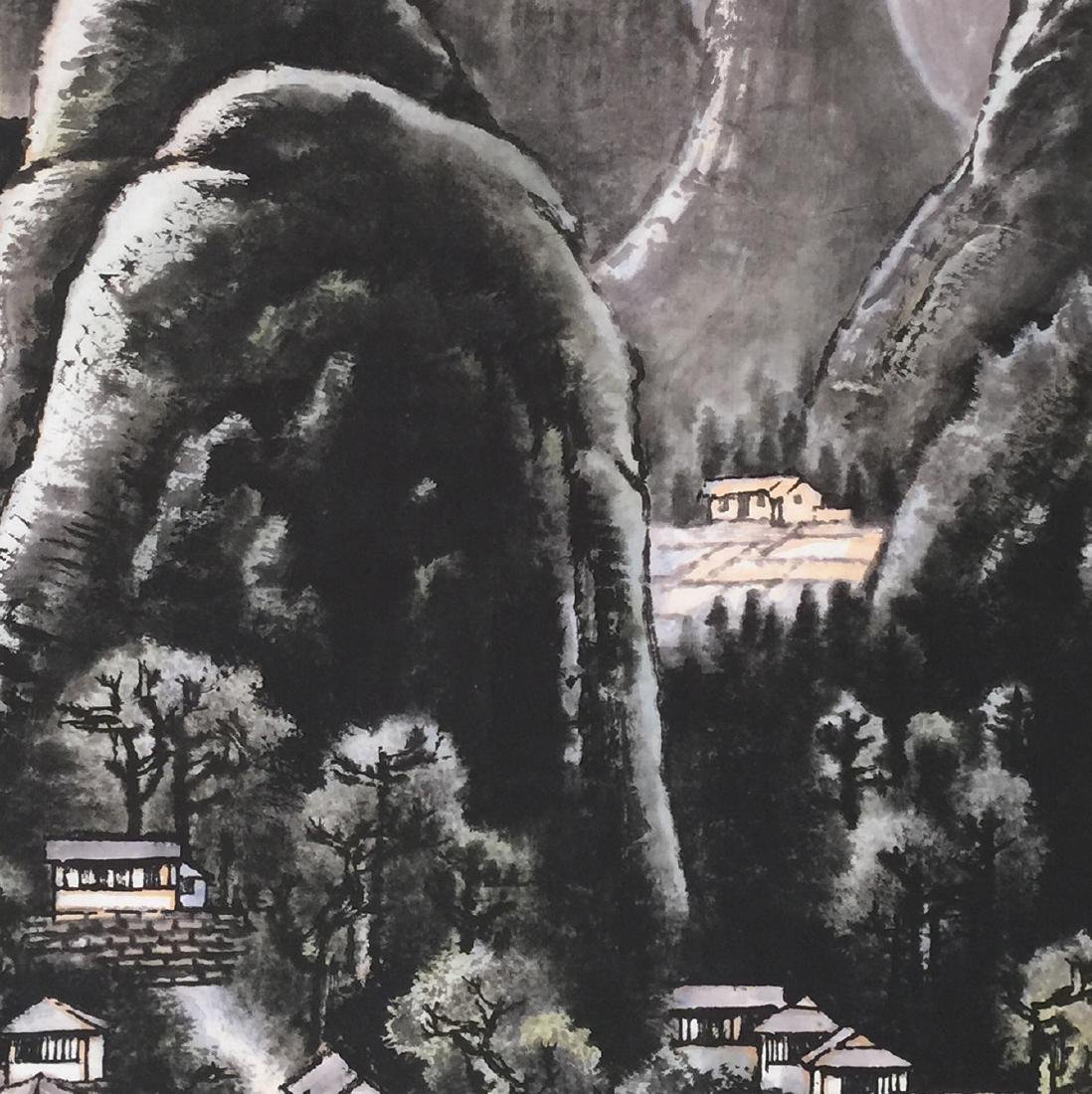 Li Keran(1907-1989), Landscape - 4