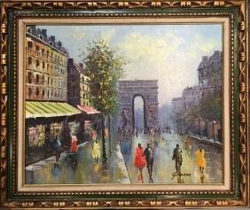 Gakber, Oil Painting on Canvas, Landscape