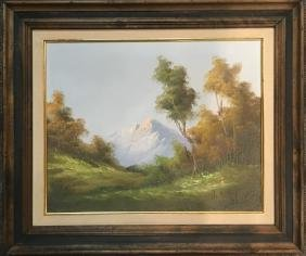 T.Hriti, Oil Painting on Canves, Landscape