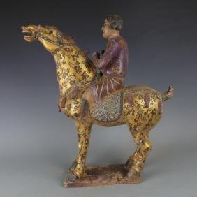 Chinese Tang San Cai Horse