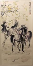Xu Beihong (1895-1953), Horses