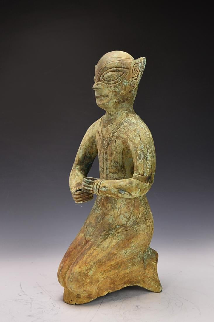 Chinese Bronze Figure - 3