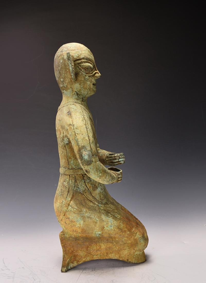 Chinese Bronze Figure - 5