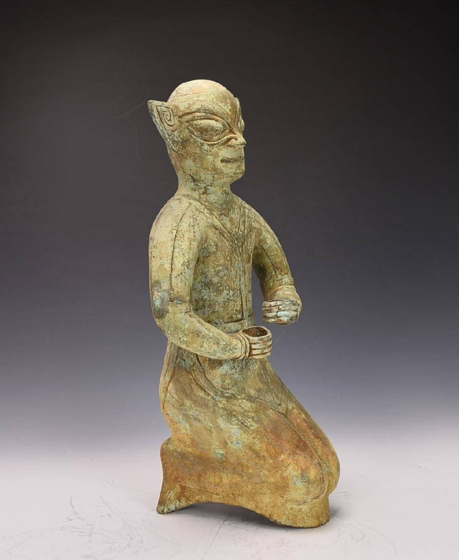 Chinese Bronze Figure - 6