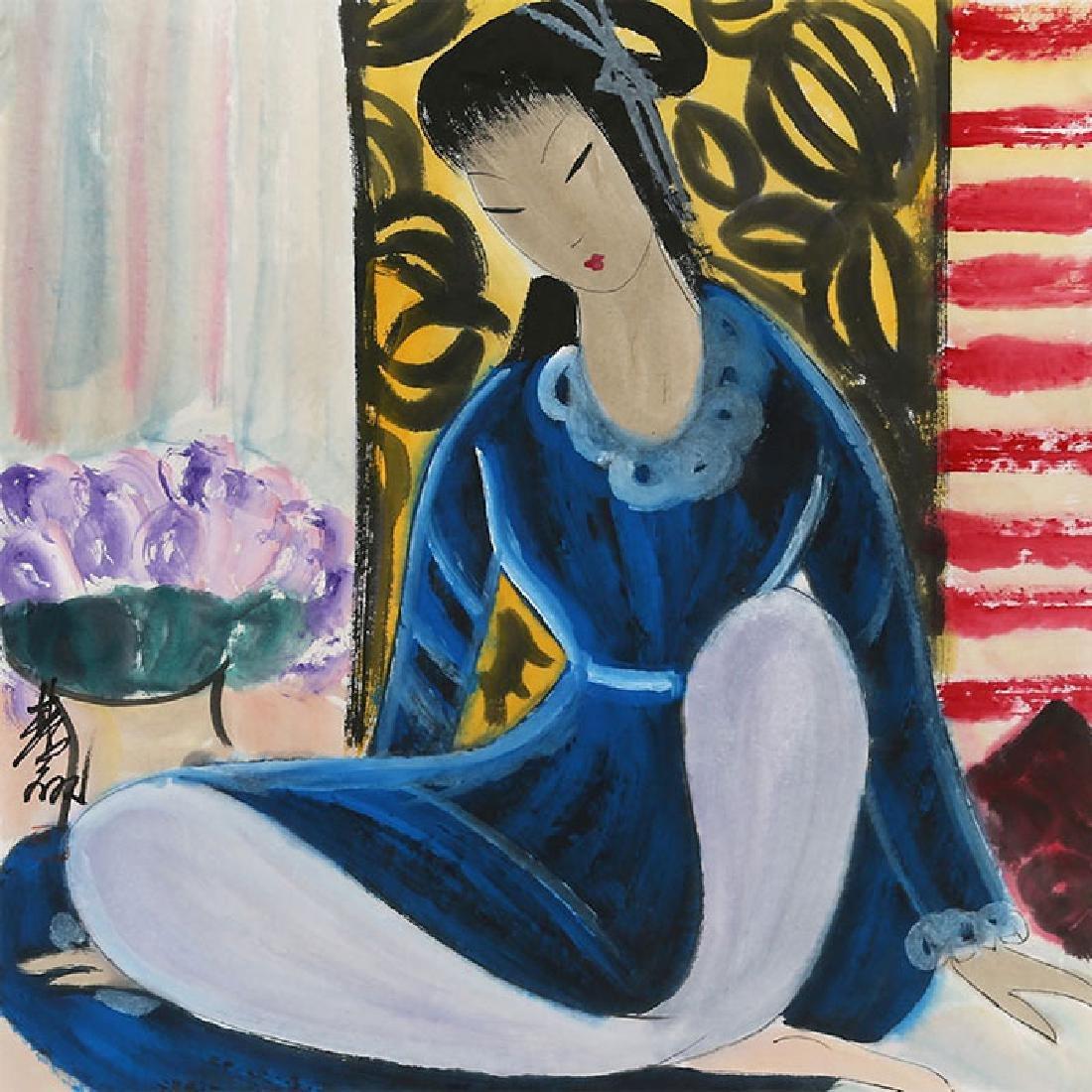 Lin Fengmian (1900-1991), Figures