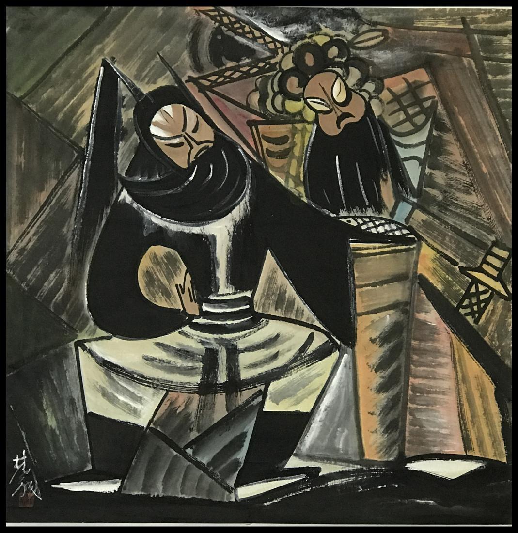 Lin Fengmian (1900-1991), Opera Figures