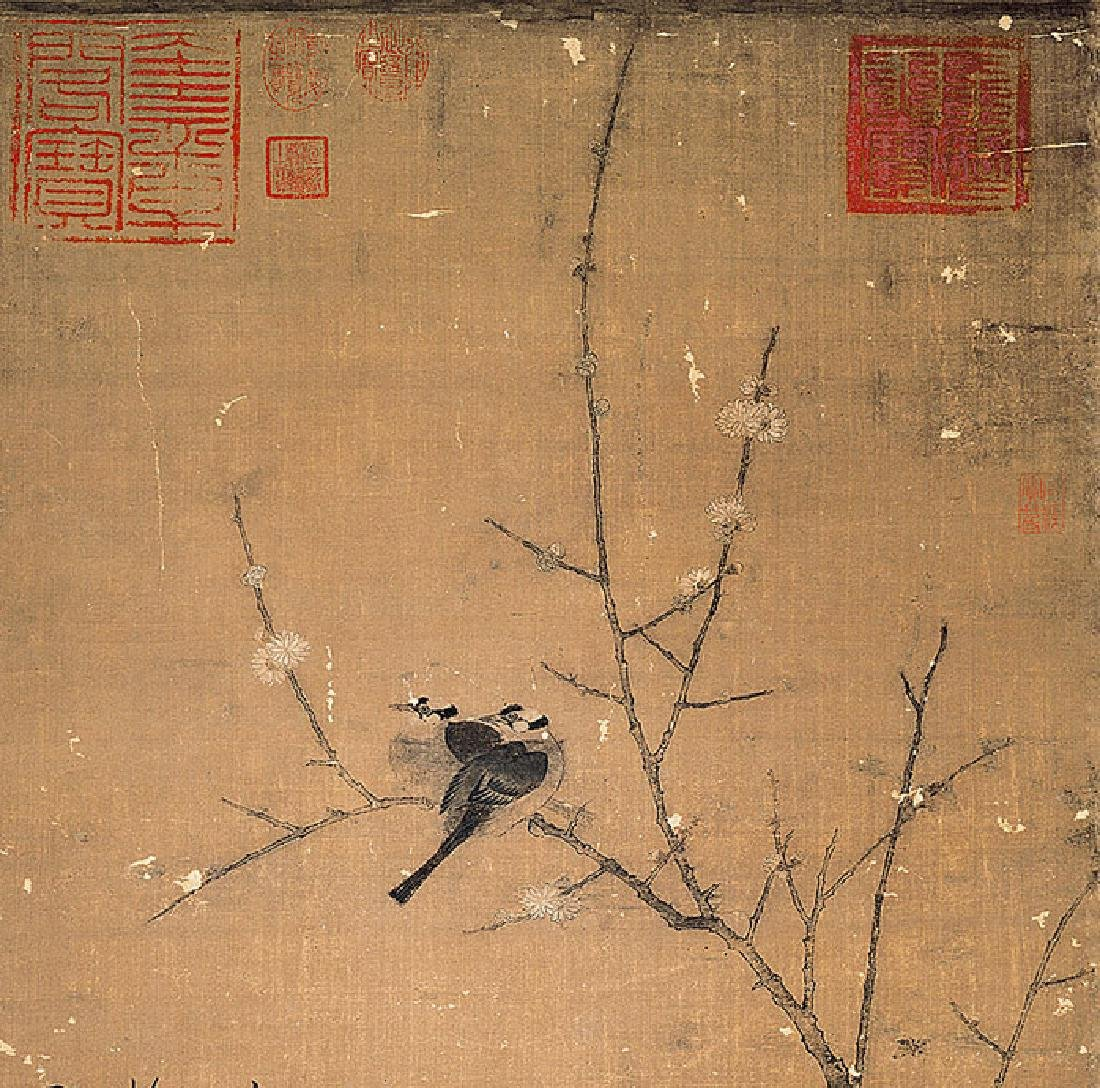 Shong Hui Zhong ( 1082-1135), Plum Flower - 2