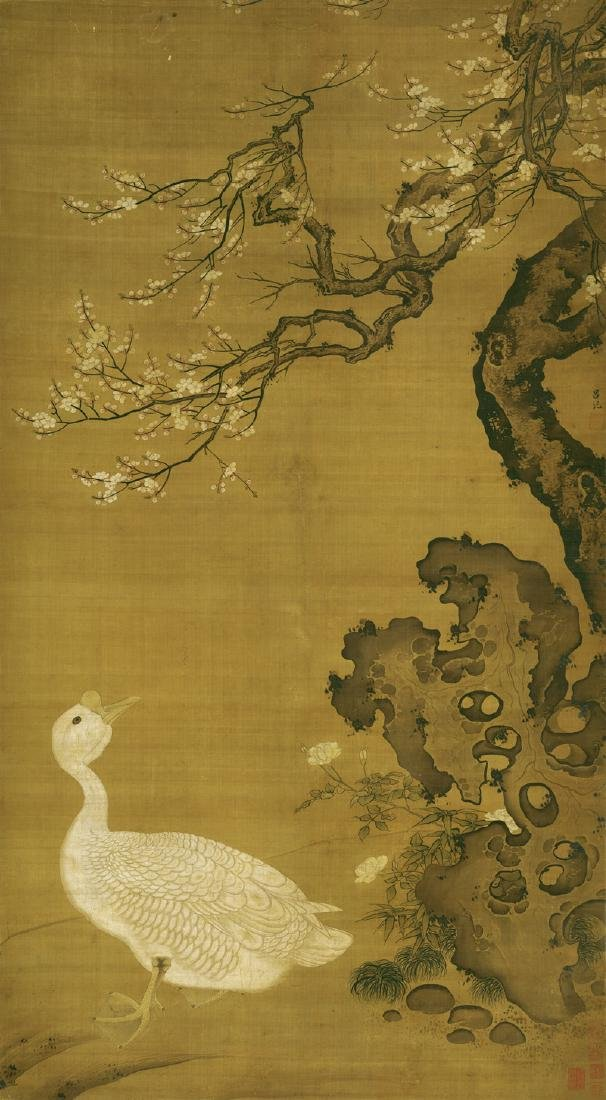 Lu Ji (1477- ), Flower and Bird