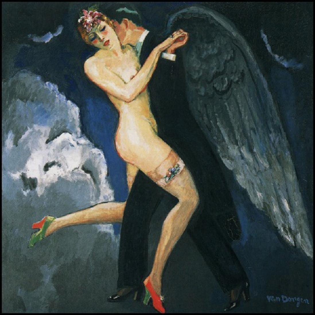 Oil Painting on Canvas, Kees Van Dongen