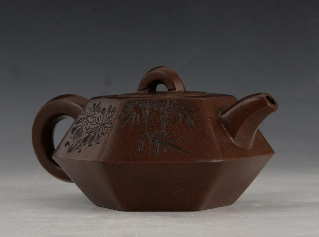 CHINESE ZI SHA TEA POT - 2