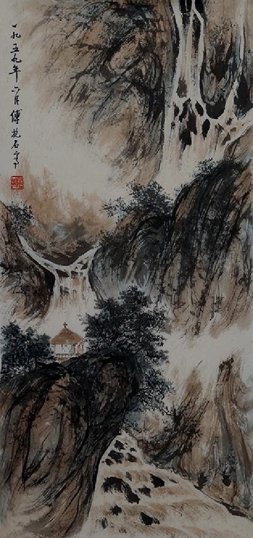 FU BAOSHI (1904) | LANDSCAPE, 1959