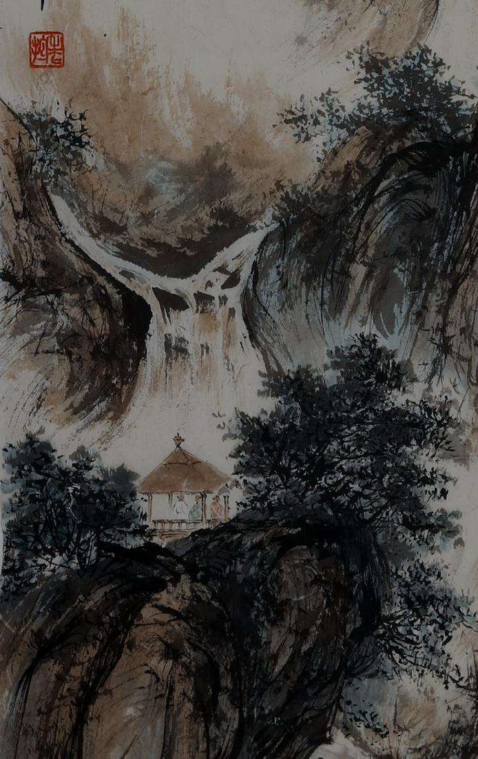 FU BAOSHI (1904) | LANDSCAPE, 1959 - 4