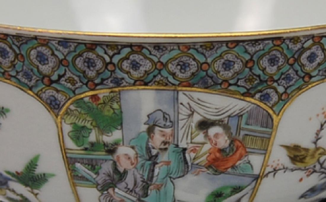 18TH CENTURY CHINESE FAMILLE ROSE  BOWL - 2