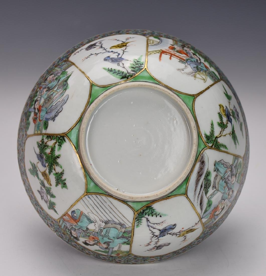 18TH CENTURY CHINESE FAMILLE ROSE  BOWL - 5