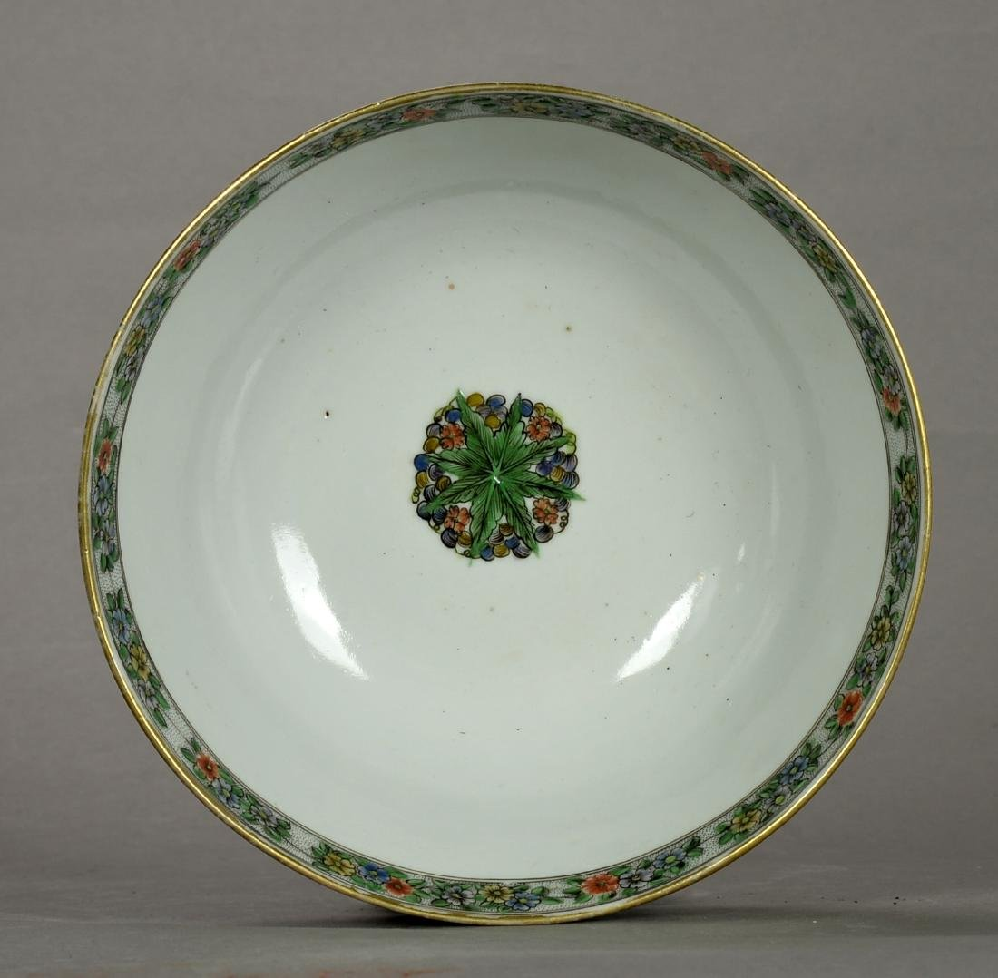 18TH CENTURY CHINESE FAMILLE ROSE  BOWL - 6