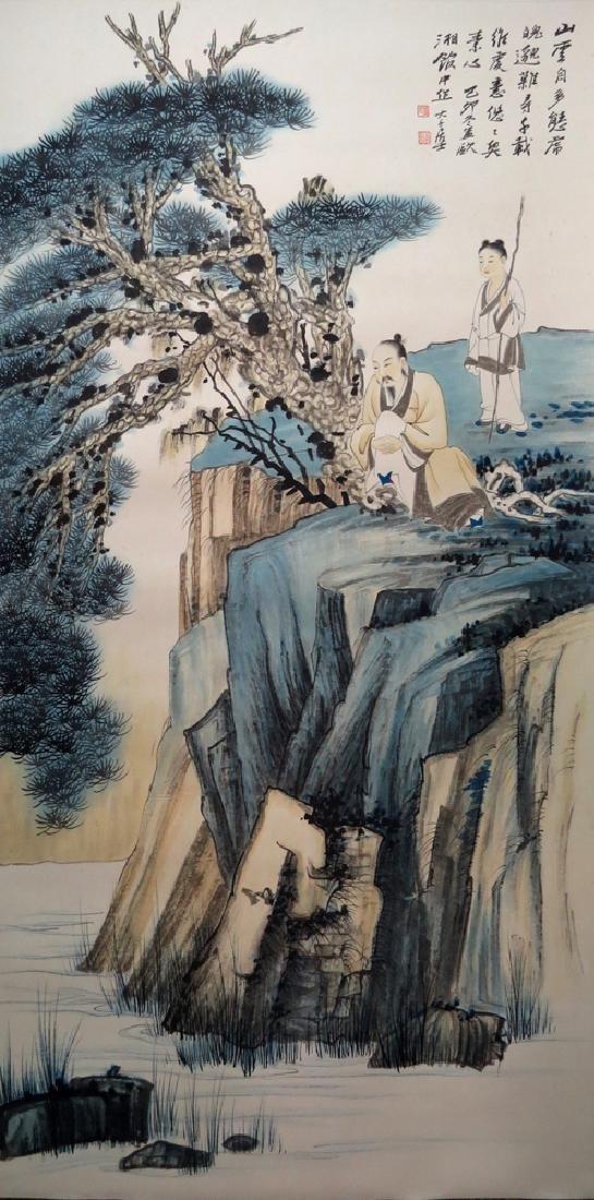Zhang Daqian(1899-1983), Figure