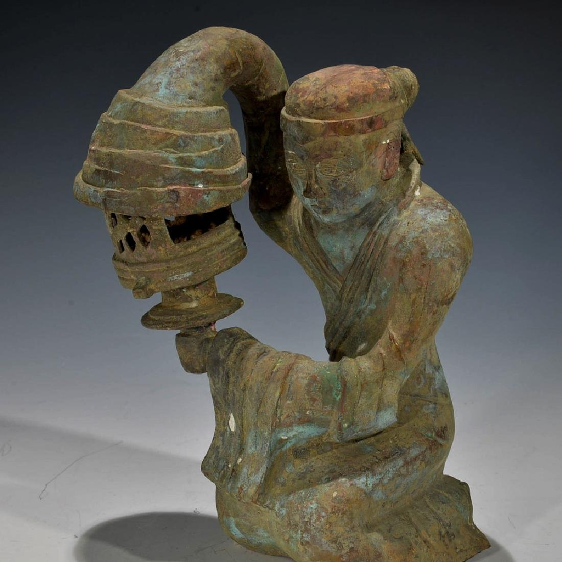 Chinese Antique Bronze Figure