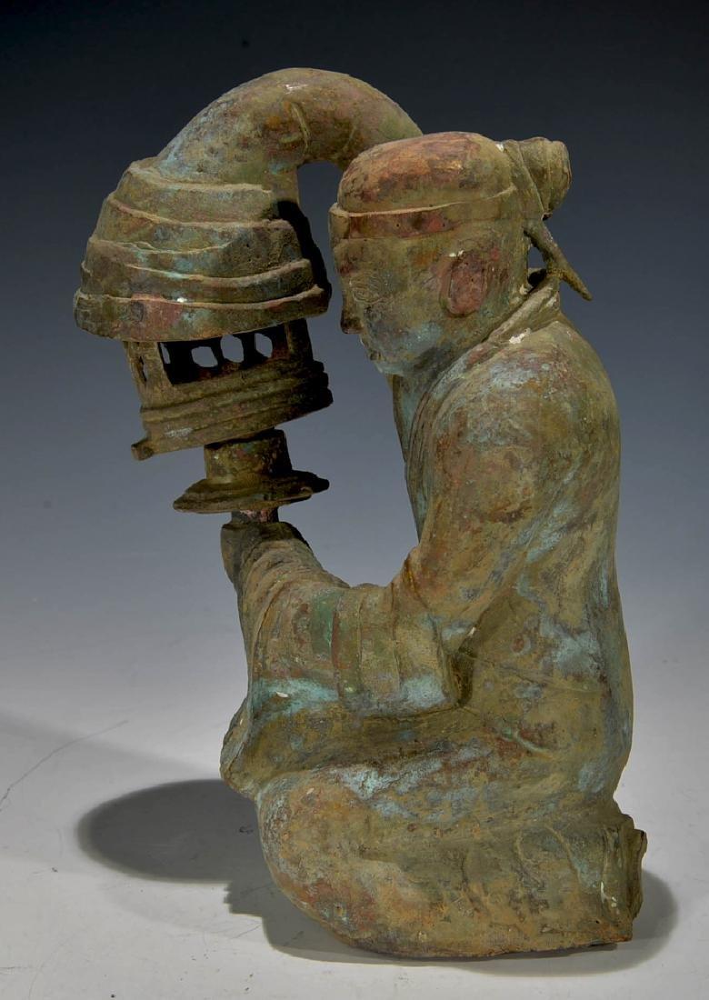 Chinese Antique Bronze Figure - 2