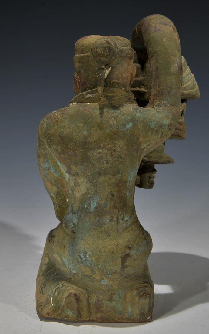 Chinese Antique Bronze Figure - 3