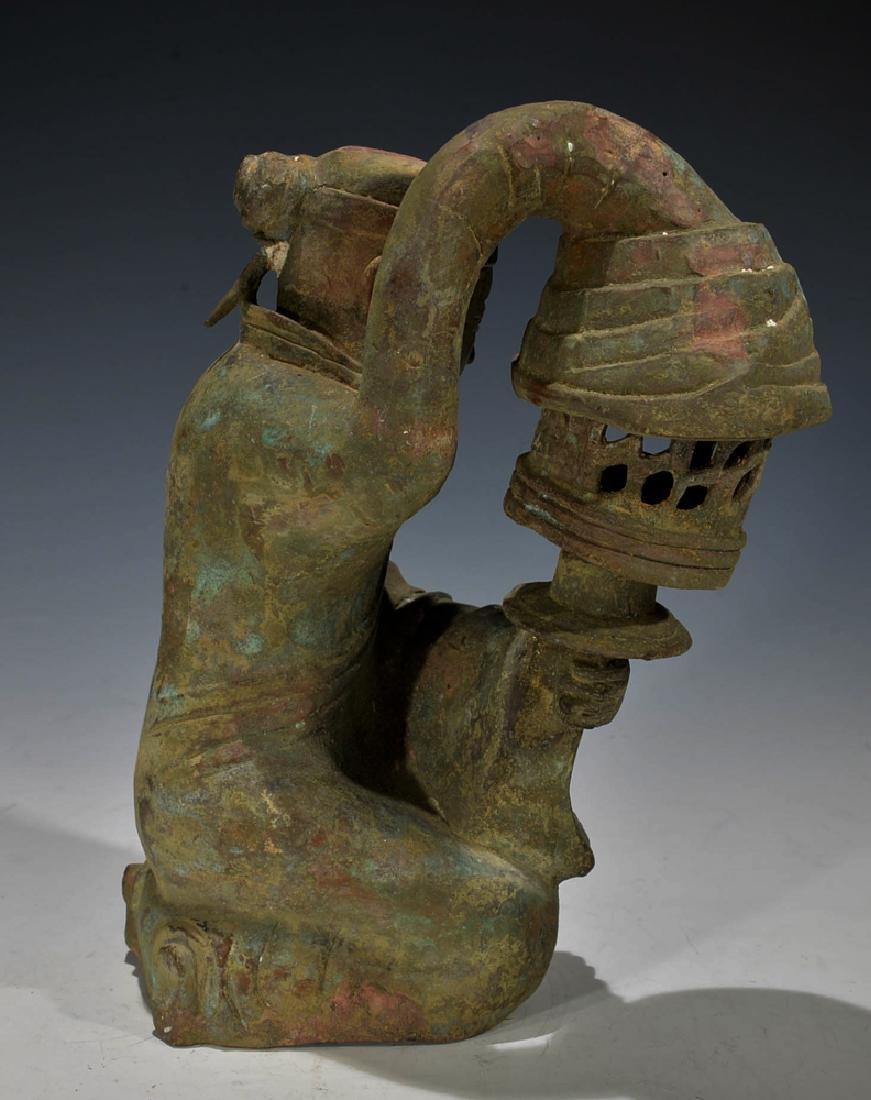 Chinese Antique Bronze Figure - 4
