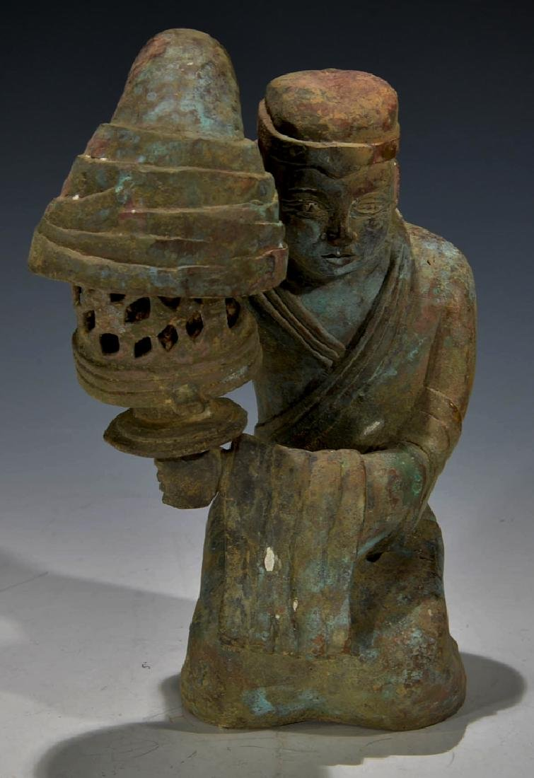 Chinese Antique Bronze Figure - 5