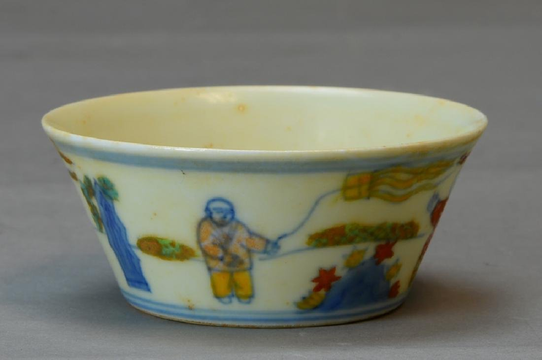 A Chinese Doucai Cup - 4