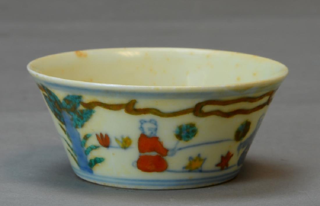 A Chinese Doucai Cup - 5