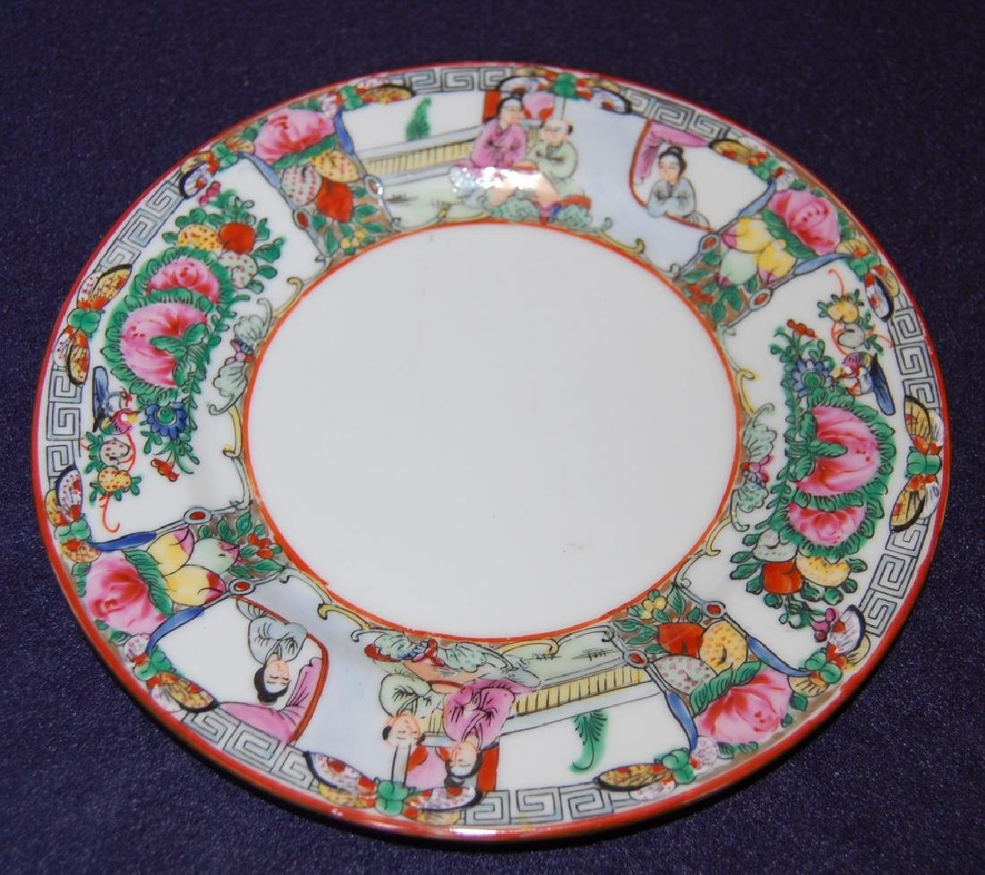A Pair of Famille Rose Plate in Flower & Figure - 4