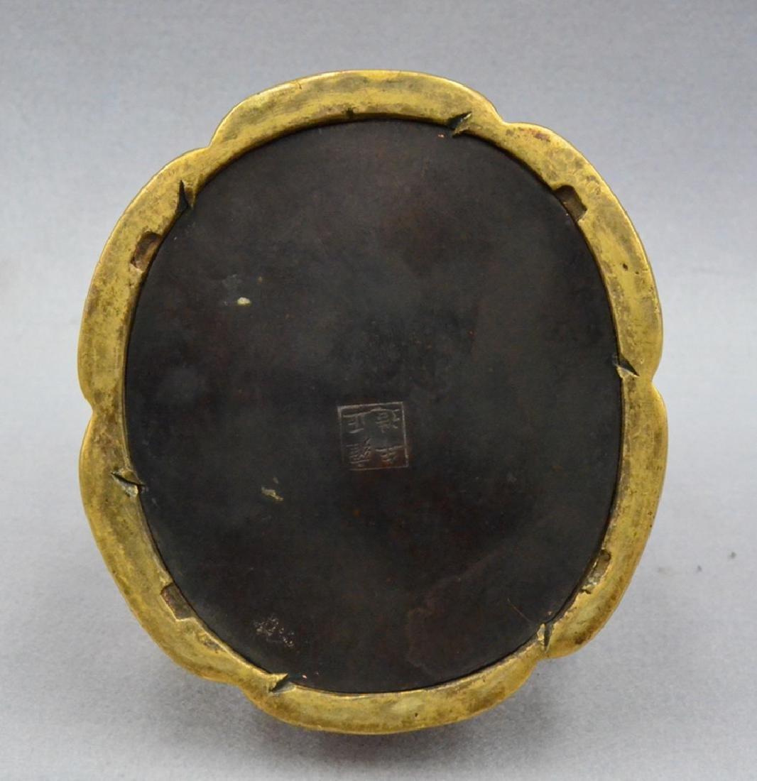 CHINESE GILT BRONZE BUDDHA - 10