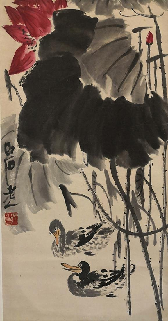 QI BAISHI(1864-1957), THE BIRDS AND FLOWERS