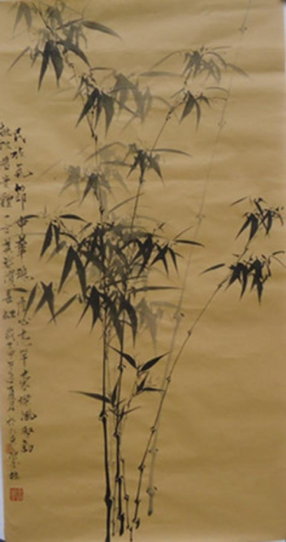 CHINESE INK AND BAMBOO PAINTINGS