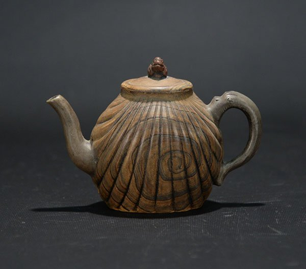 A Yixing Teapot marked Bei Mimi