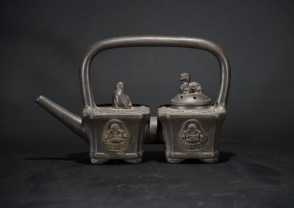 A Conjoined Yixing Teapot
