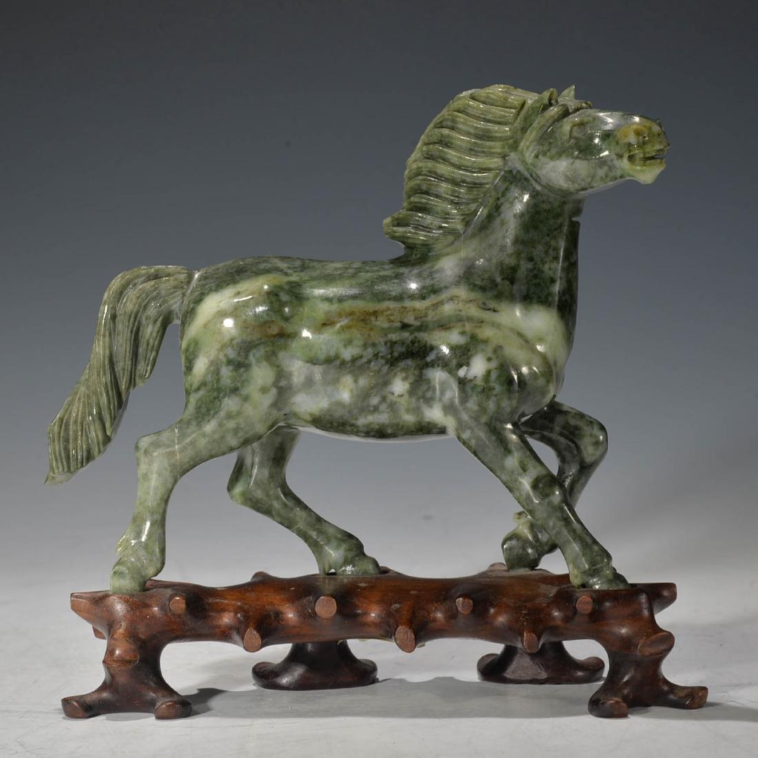 chinese jade horse Decoration