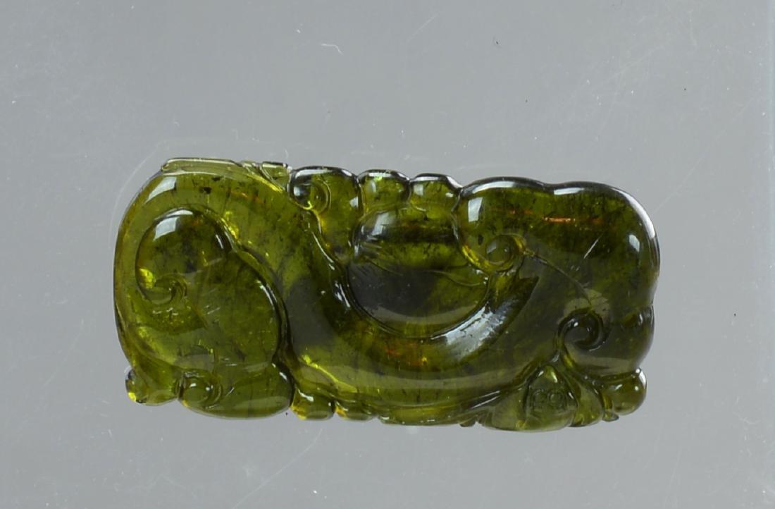 A Chinese Green Tourmaline