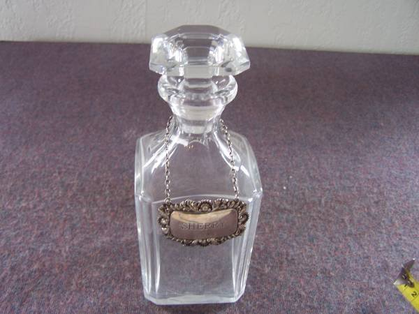 13: Baccarat Decanter