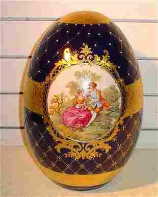 Large Porcelain Egg