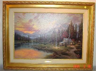 "13: Thomas Kincade ""Evening Majesty"""