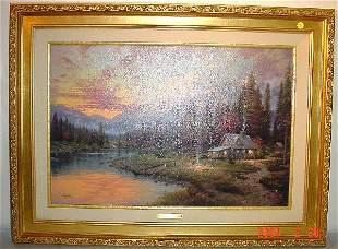 "Thomas Kincade ""Evening Majesty"""